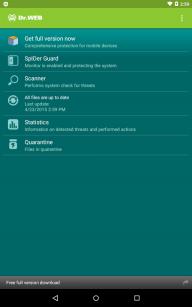 Dr.Web Anti-virus Light (free) screenshot 9