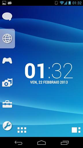 Smart Launcher Theme PSP/PS3 screenshot 1