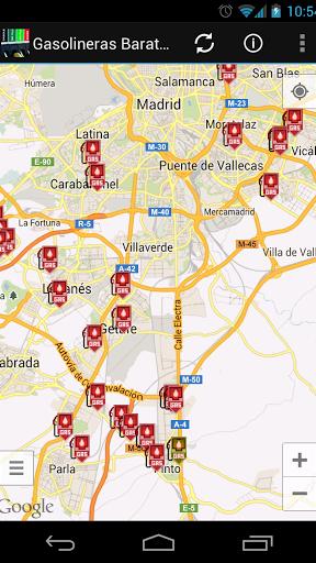 Gasolineras Baratas Screenshot