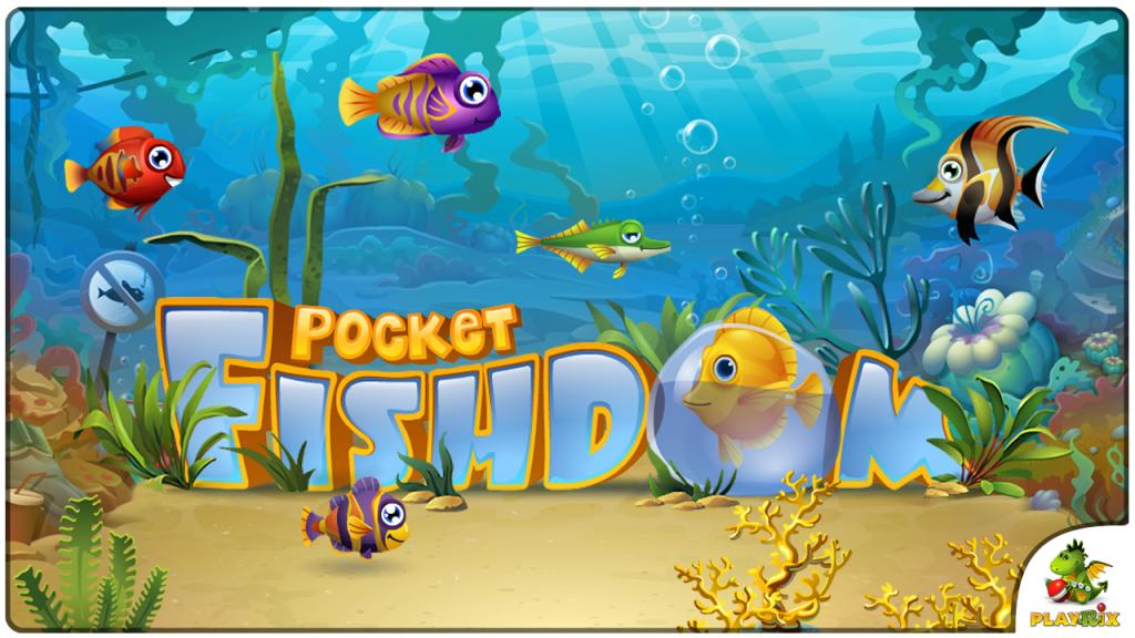 Приложение Pocket Fishdom дат вам такую возможность. . В этой игре вы смож