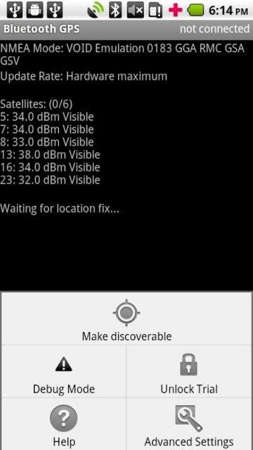 Просто приобретите ключ, затем закройте и откройте Bluetooth GPS приложение