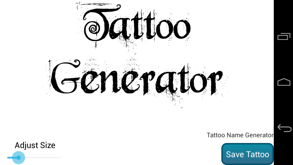 tattoo generator download apk for android aptoide