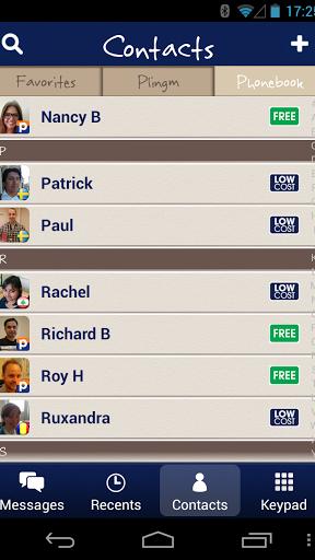 Plingm – Free & Cheap Calls screenshot 4