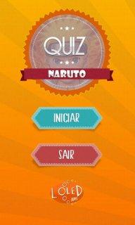 Naruto Quiz - Português screenshot 1