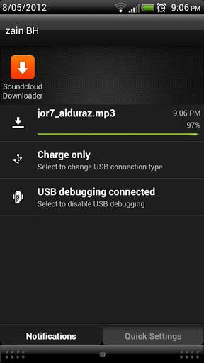 SoundCloud Downloader Screenshot