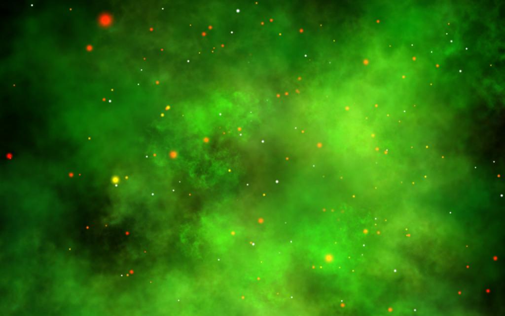 green nebula wallpaper iphone - photo #28