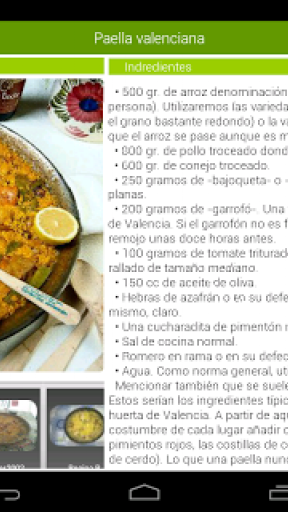 Recetario, recetas de cocina screenshot 4