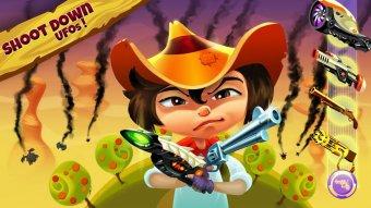 Cowboy vs UFOs v1.02 APK [UNLIMITED MONEY]