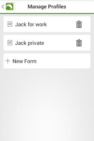 Autofill Form Screenshot