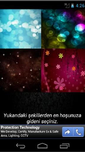Karakter Analizi Screenshot