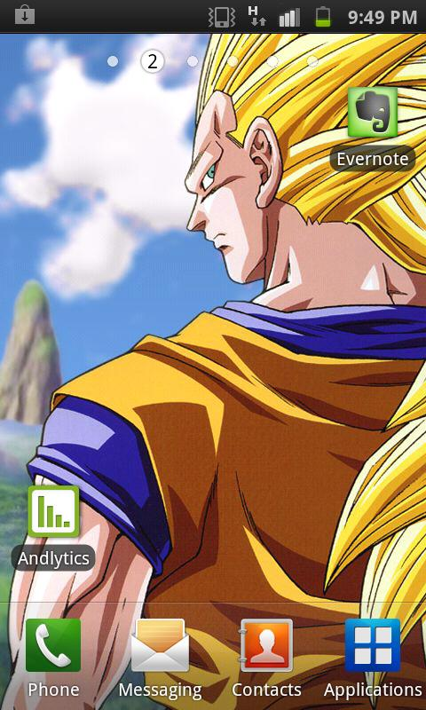 Android Dbz Wallpaper App Screenshot App Screenshot