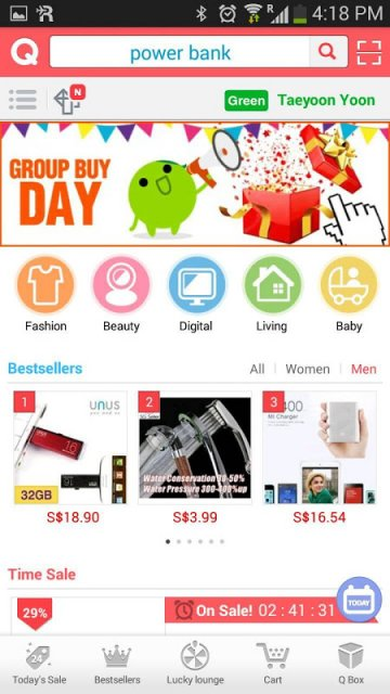 Qoo10 Singapore - Apps Android Store | Aptoide - Android Apps Store