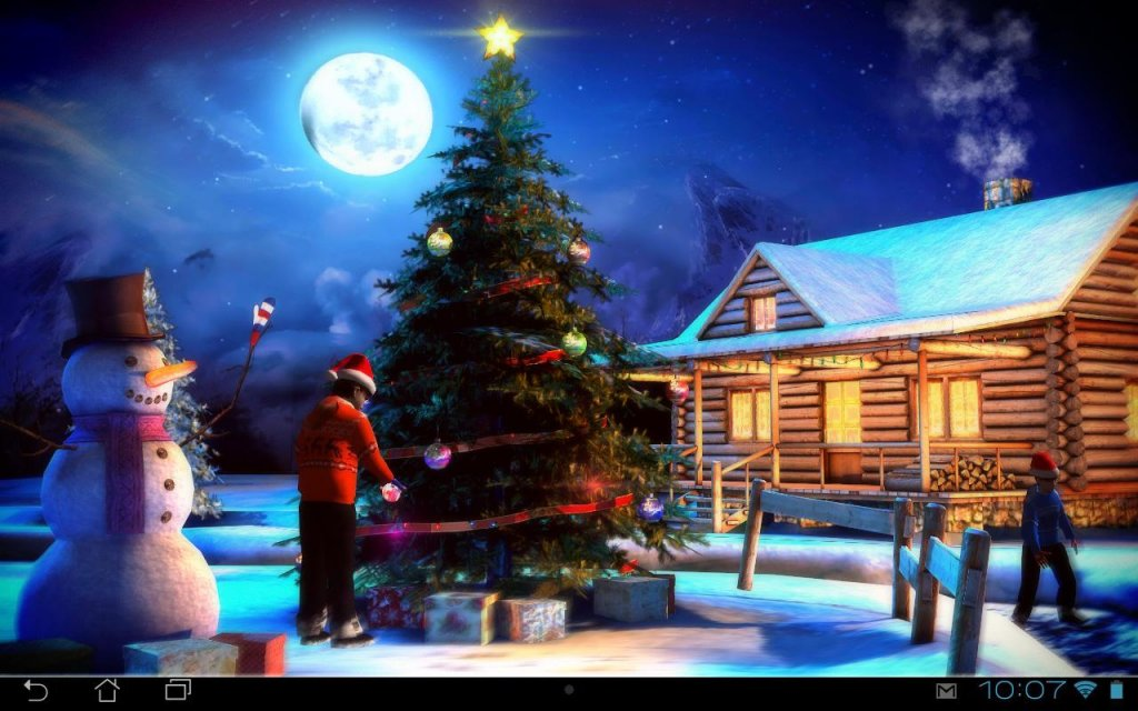 3d Christmas Live Wallpapers Images