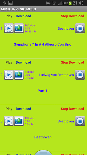 Download music for free in mp3 screenshot 2