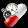 Medication alarm clock Icon
