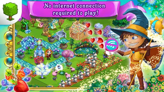 Скриншот Fairy Farm для Android #3.