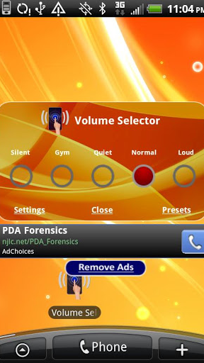 Volume Selector Free Screenshot
