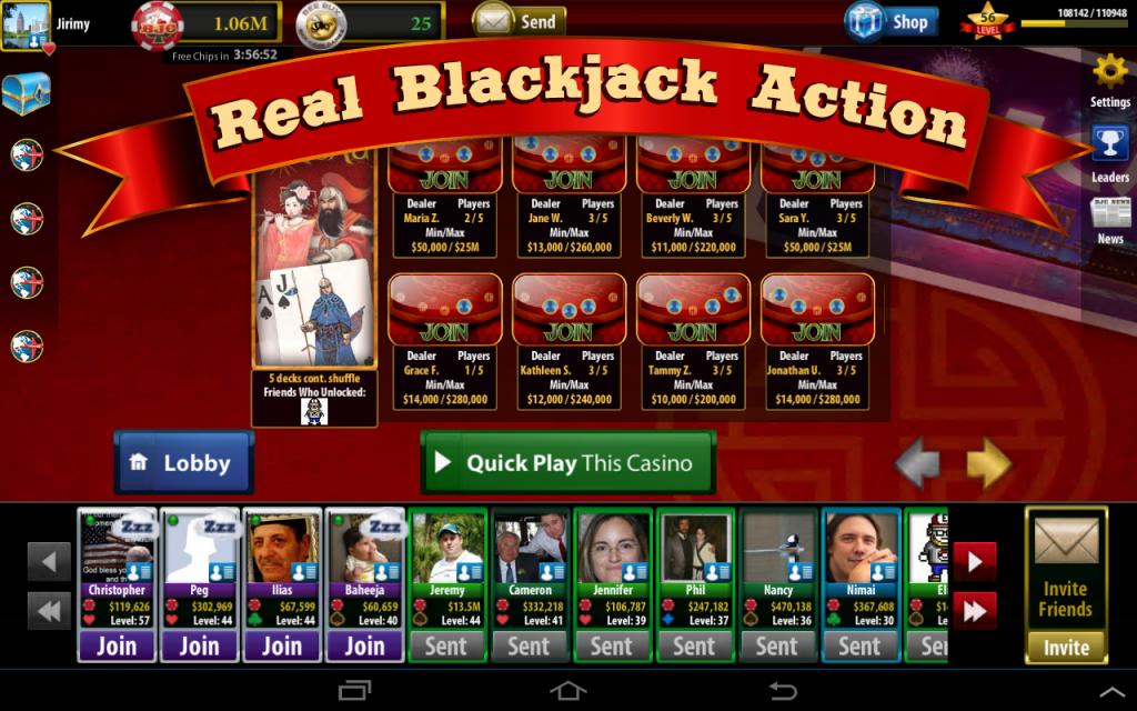 Bee cave blackjack