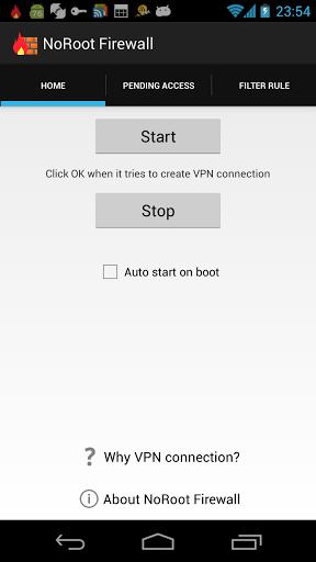 NoRoot Firewall screenshot 4