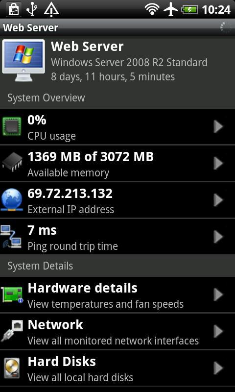 PC Monitor Lite Screenshot