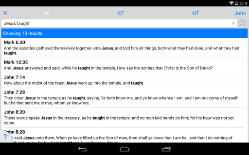 free holy bible download for android