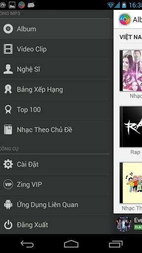 Zing Mp3 Screenshot