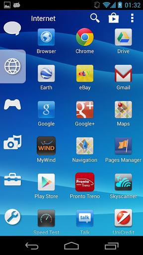 Smart Launcher Theme PSP/PS3 screenshot 2