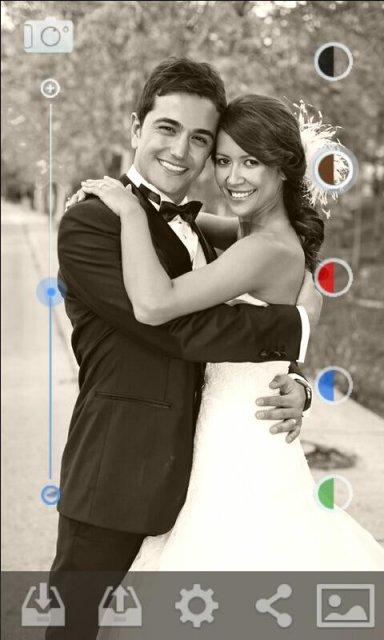 黑白照相机 screenshot