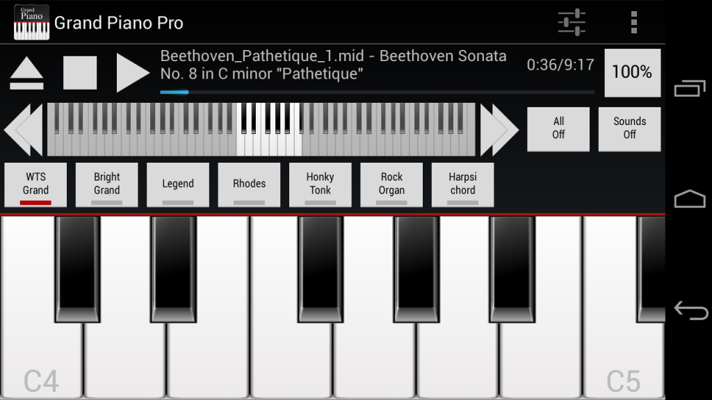 Piano pro android