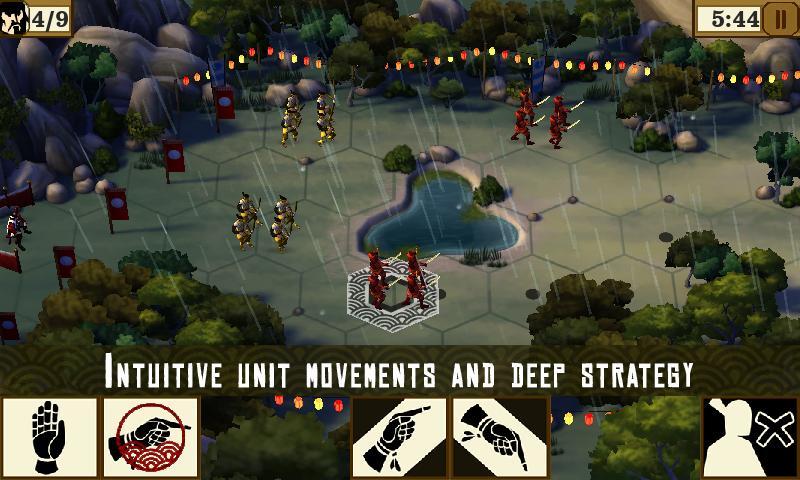 Скачать игру Total War Battles - феодальные войны в Японии для Android.