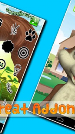 Talking Baby Squirrel Screenshot