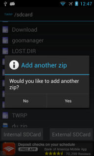 TWRP Manager  (ROOT) screenshot 4