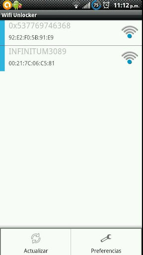 Wifi Unlocker Screenshot