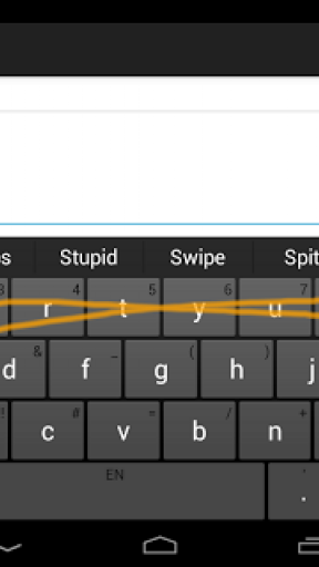 Swype Keyboard (Unlocked) screenshot 1