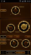 Poweramp TRILUS Skin Screenshot