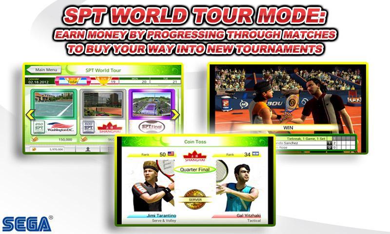 Скачать игру Virtua Tennis Challenge на андроид + взлом взломанная версия с