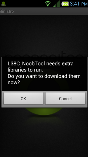 Root LG Optimus Dynamic (LGL38C) Screenshot