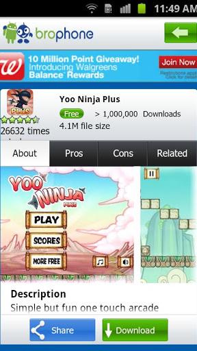 Bro App Market Screenshot