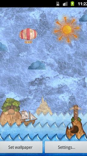 Marine Miracle Wallpaper Screenshot