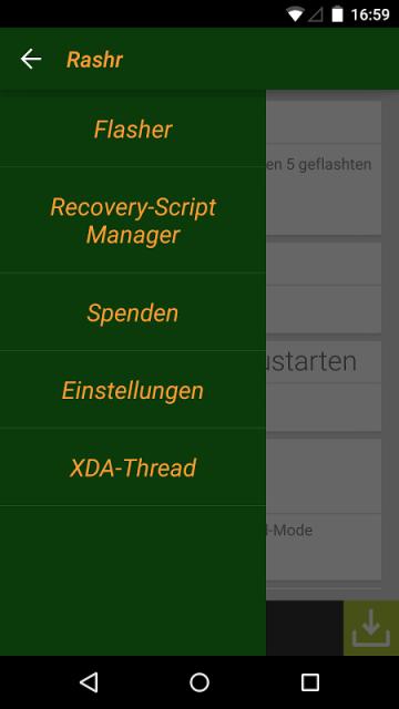 ROOT] Rashr - Flash Tool screenshot 3