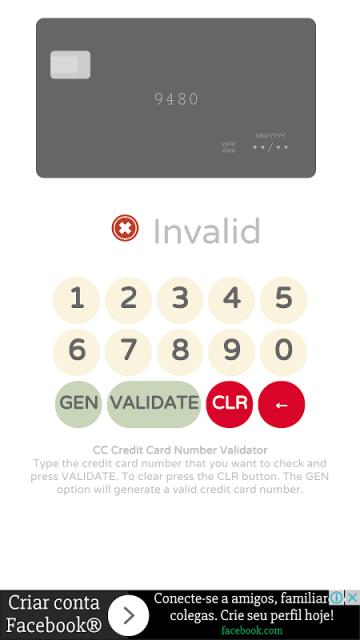 credit card validator with cvv and credit card number generator download apk for android aptoide. Black Bedroom Furniture Sets. Home Design Ideas