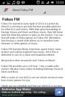 Fokus FM Screenshot