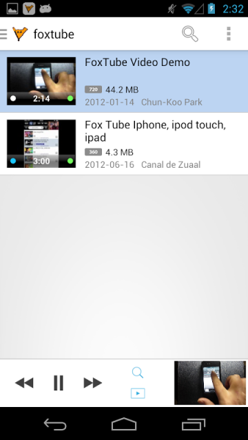 ����� ������� �� �������� Foxtube youtube downloader