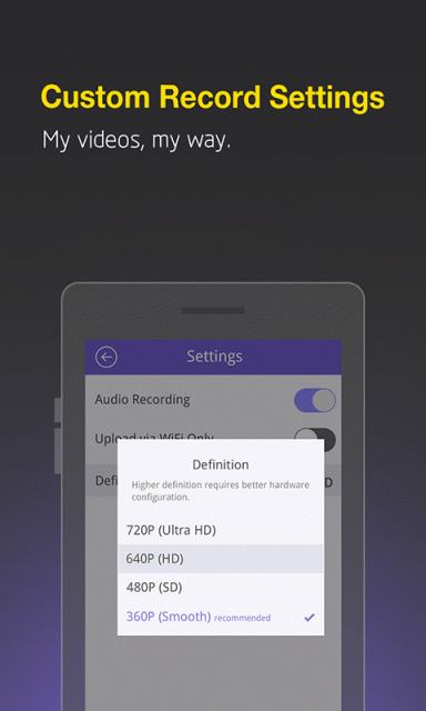 how to delete smart recorder app from android