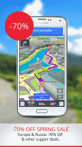 Sygic: GPS Navigation Screenshot