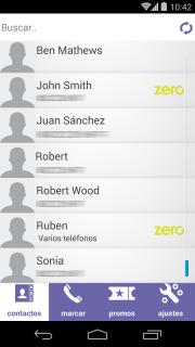 ZeroApp screenshot 2