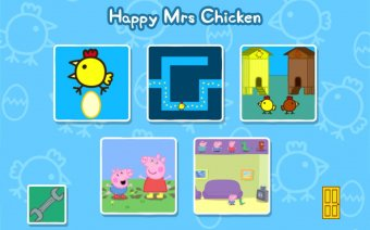 Peppa Pig - Happy Mrs Chicken Screenshot
