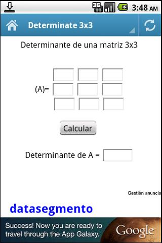 how to find a determinant of a 3x3 matrix