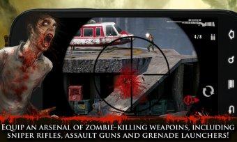 CONTRACT KILLER: ZOMBIES (NR) Screenshot