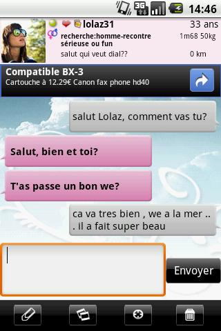 Tchatche : chat gratuit screenshot 5